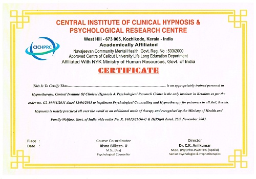 Psychology Certificate Courses In India - Best Design Sertificate 2018